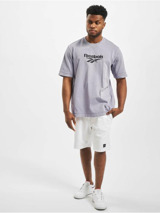 Reebok T-Shirty Premium Vector fioletowy