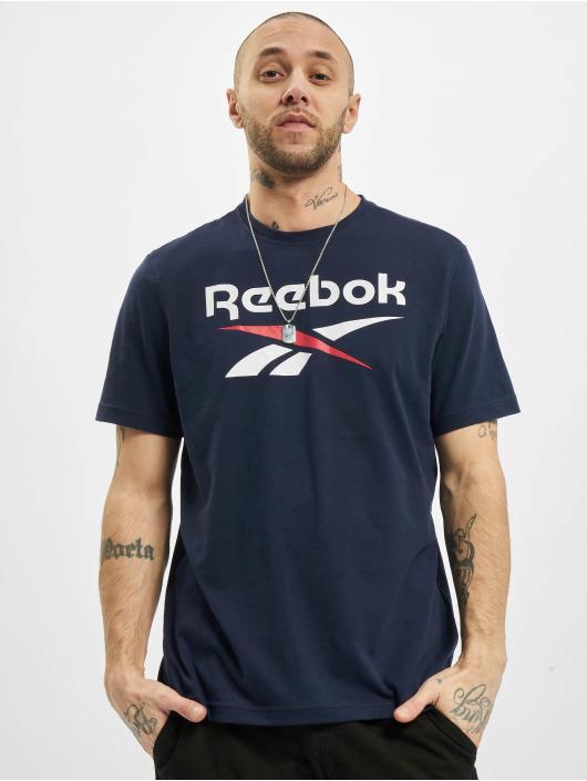 Reebok T-Shirty Identity Big Logo niebieski