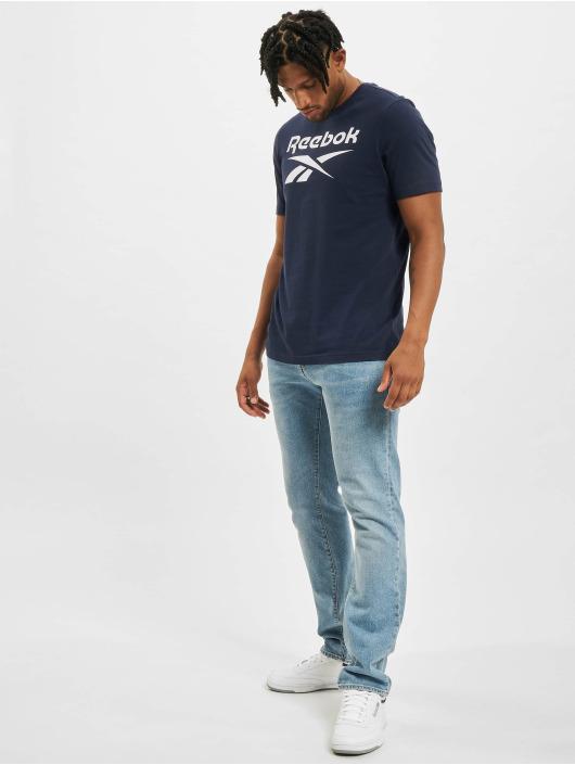 Reebok T-Shirty RI Big Logo niebieski