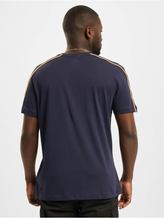 Reebok T-Shirty TE Piping niebieski