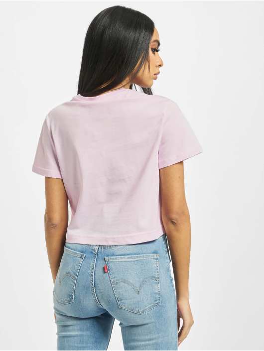 Reebok T-Shirty Classic F Vector Crop pink