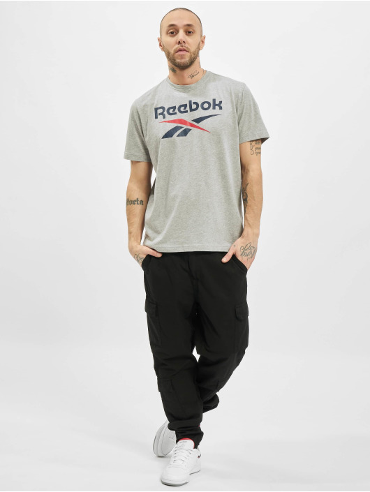 Reebok T-Shirty Identity Big Logo szary