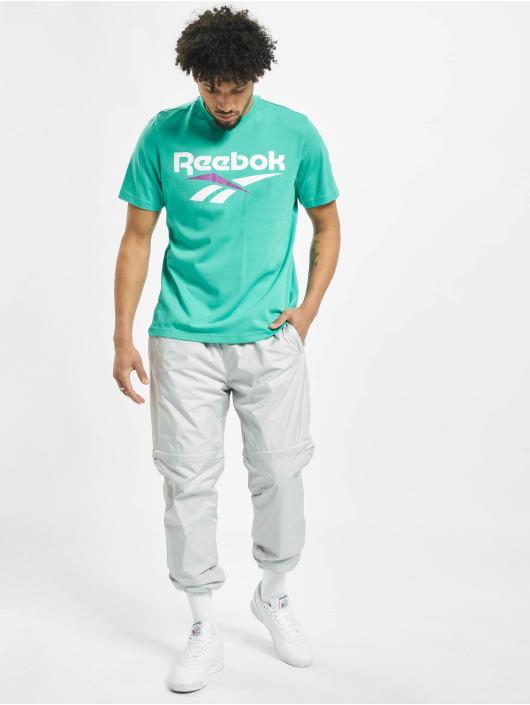 Reebok T-Shirty Classic V turkusowy