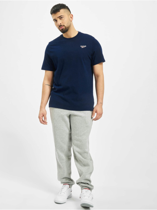 Reebok T-skjorter Classic F Small Vector blå