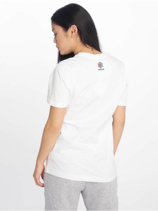 Reebok T-skjorter Classic hvit