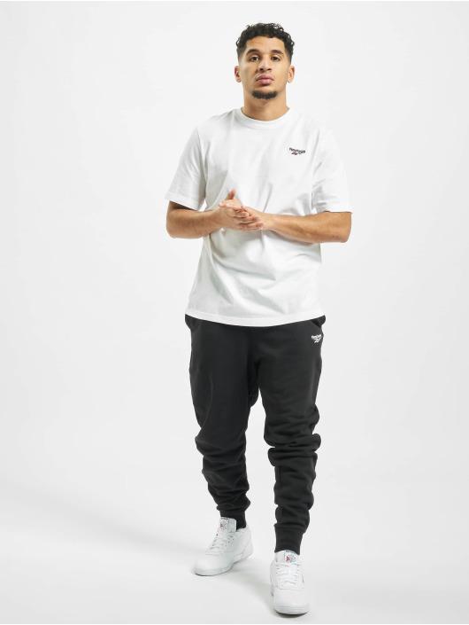 Reebok T-skjorter Classic F Small Vector hvit
