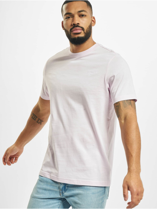 Reebok T-skjorter Classic F Small Vector lyserosa