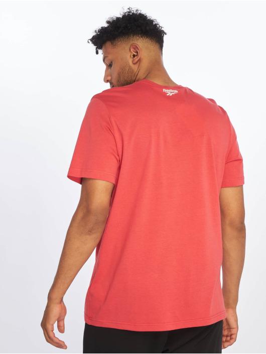 Reebok T-skjorter Graphic ITL Pizza red