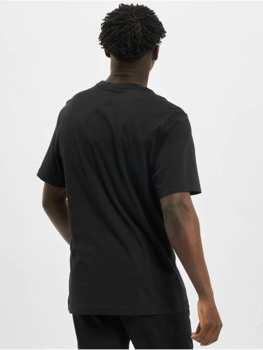 Reebok T-skjorter Ri Big Logo svart