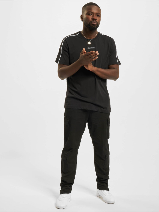 Reebok T-skjorter TE Piping svart