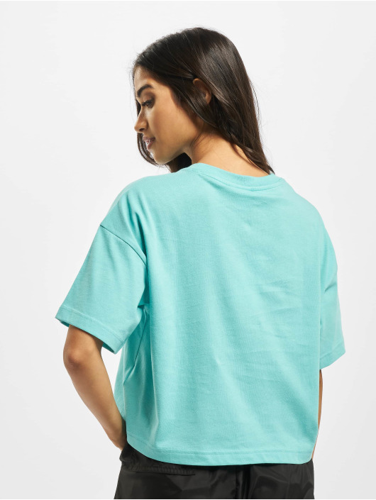 Reebok T-skjorter QQR Cropped turkis