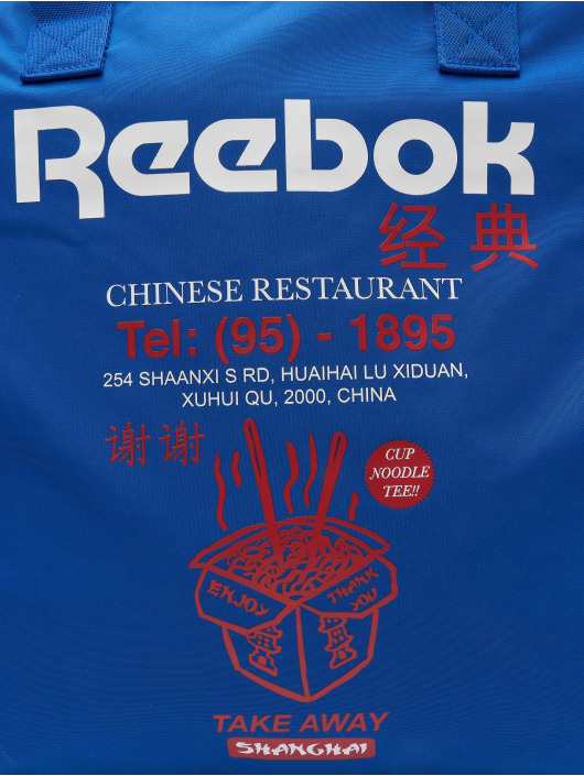Reebok Tašky Classics Graphic Food modrý