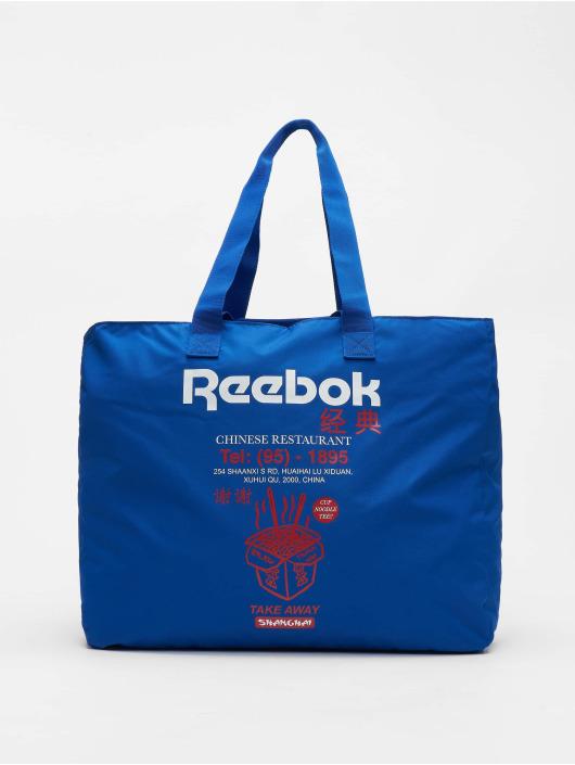 Reebok Tasche Classics Graphic Food blau