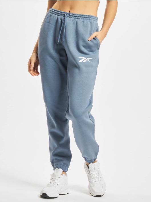Reebok tepláky TE Vector Fleece modrá