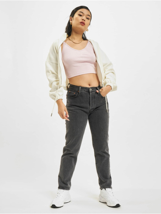 Reebok Top Cl Wde Strappy Rib rot