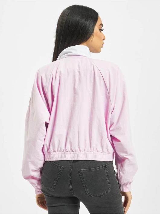 Reebok Übergangsjacke Classic V Cropped rosa