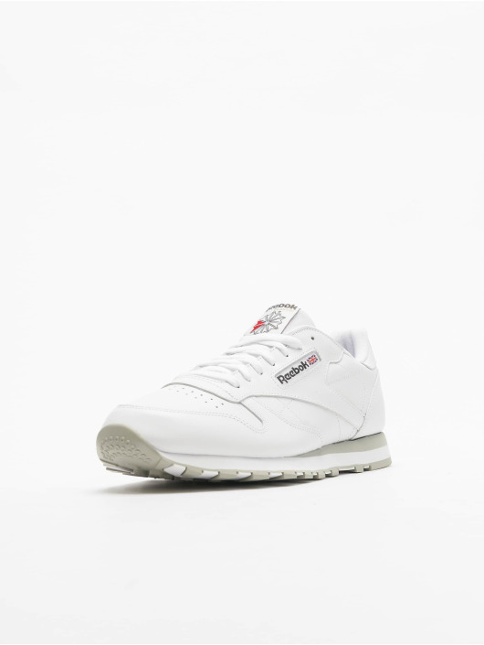 Reebok Classic Leather Sneakers WhiteLight Grey