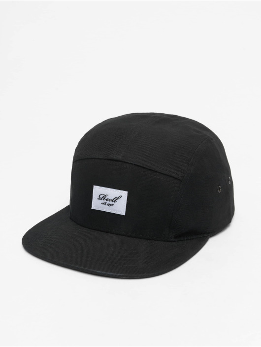 Reell Jeans 5 Panel Caps Denim èierna