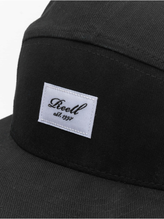 Reell Jeans 5 Panel Caps Denim czarny