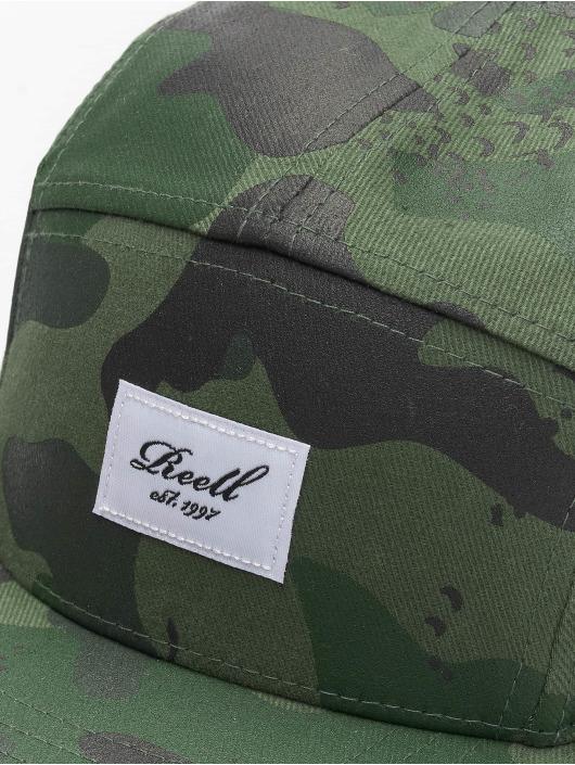 Reell Jeans 5 Panel Caps Military moro
