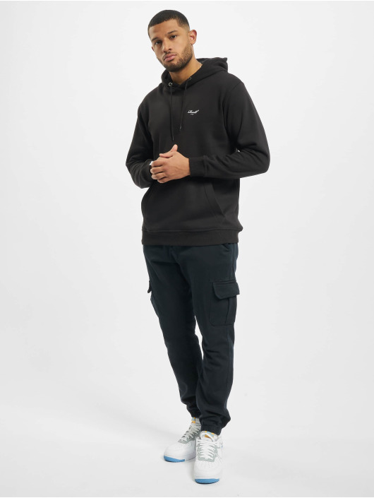 Reell Jeans Bluzy z kapturem Regular Logo czarny