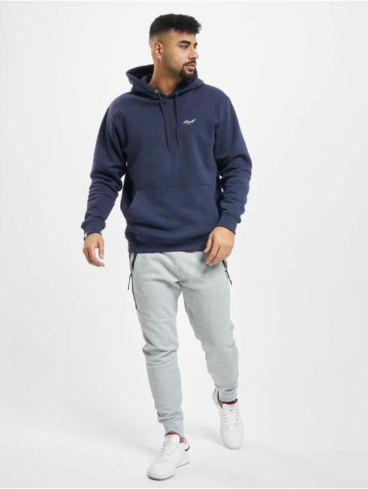 Reell Jeans Bluzy z kapturem Regular Logo fioletowy
