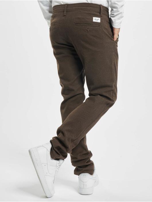 Reell Jeans Cargo Nohavice Superior Flex hnedá