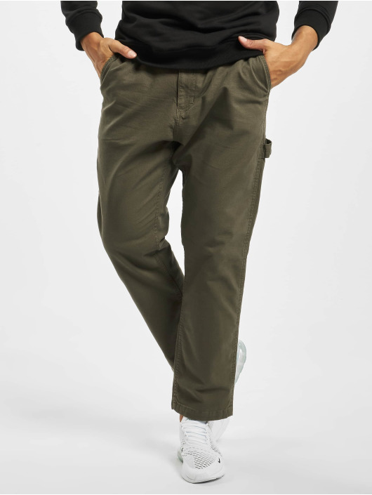Reell Jeans Cargo Nohavice Reflex Easy Worker olivová