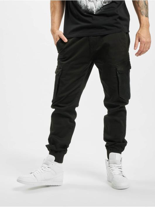 Reell Jeans Cargo pants Mesh Reflex Rib black