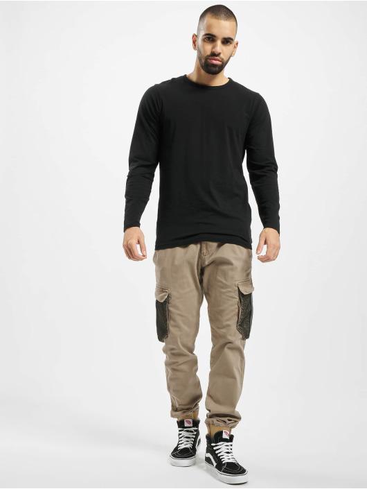 Reell Jeans Cargo pants Mesh Reflex Rib brown