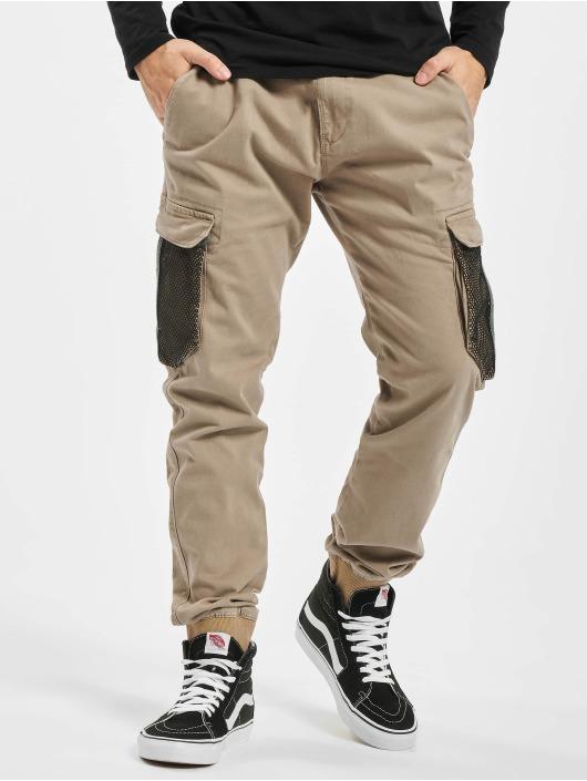 Reell Jeans Cargohose Mesh Reflex Rib braun