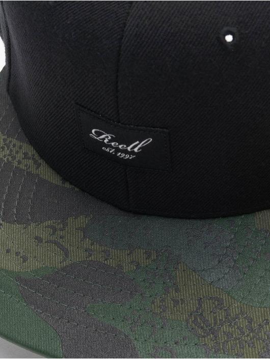 Reell Jeans Casquette Snapback & Strapback Pitchout noir