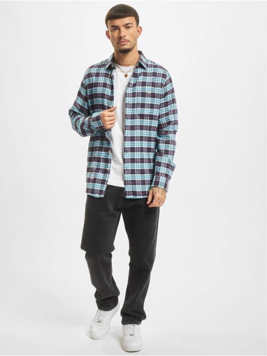 Reell Jeans Chemise Check bleu