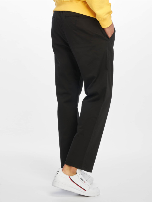 Reell Jeans Chinot/Kangashousut Reflex Loose musta