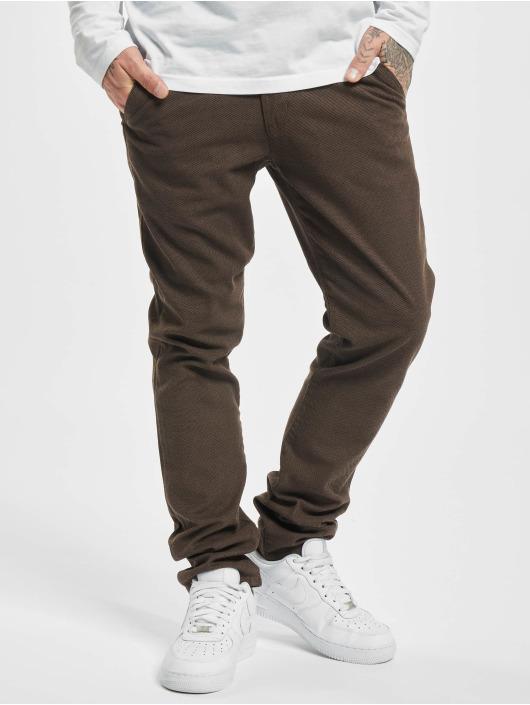 Reell Jeans Chinot/Kangashousut Superior Flex ruskea