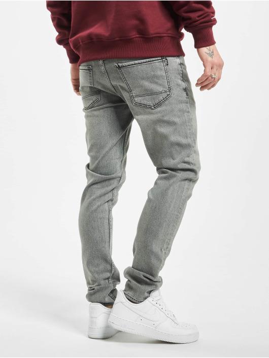 Reell Jeans dżinsy przylegające Spider szary