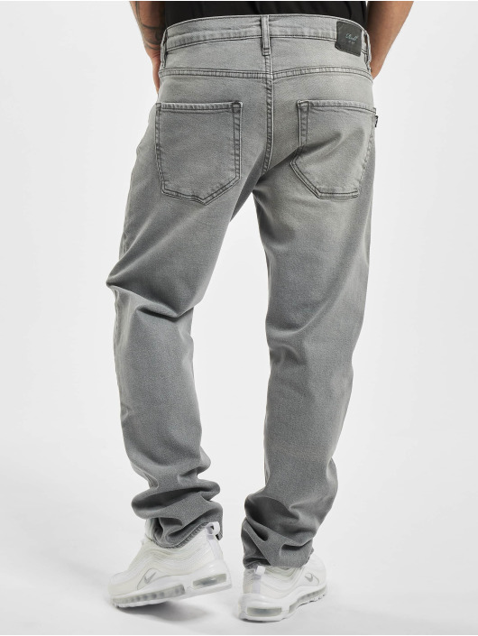 Reell Jeans Jean coupe droite Barfly gris