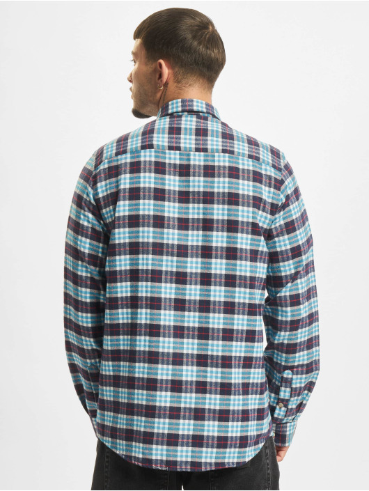 Reell Jeans Koszule Check niebieski