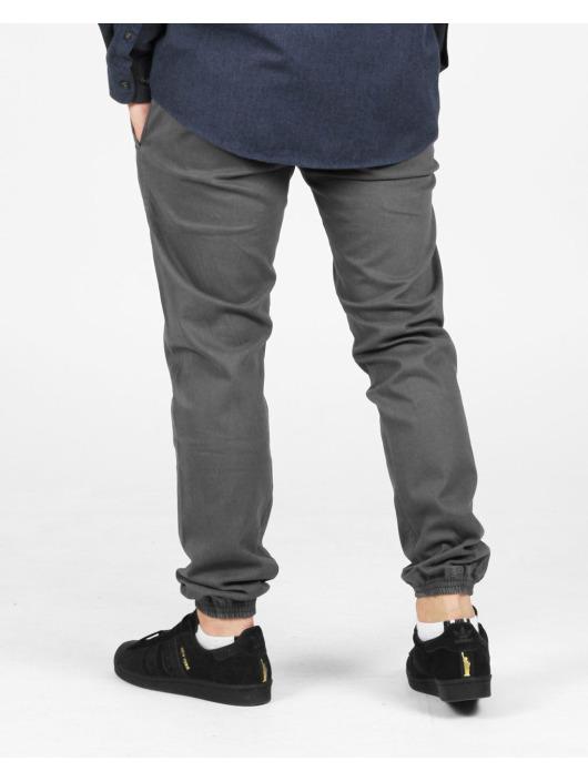Reell Jeans Látkové kalhoty Jogger šedá