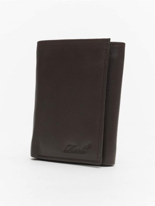Reell Jeans Lommebøker Mini Trif. Leather brun