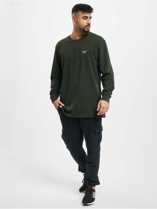 Reell Jeans Longsleeve Regular Logo grün