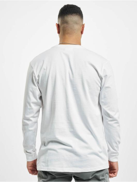 Reell Jeans Longsleeve Regular Logo weiß