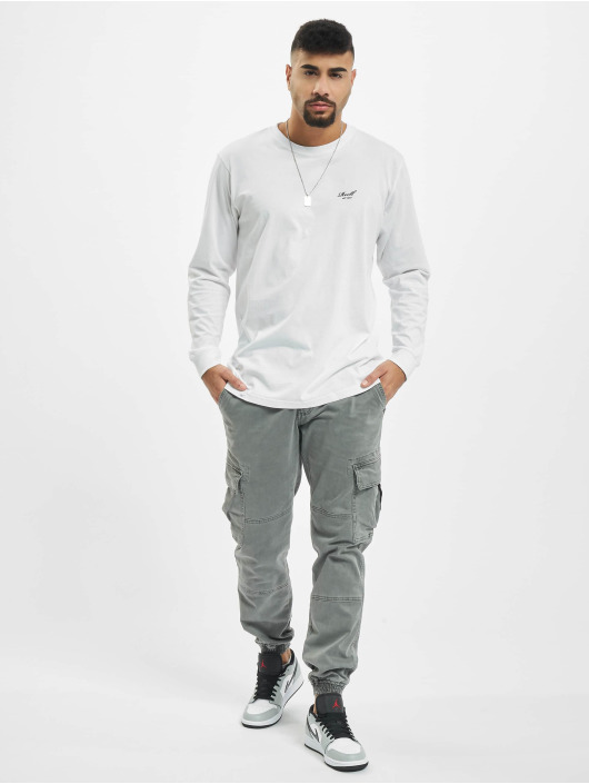 Reell Jeans Longsleeve Regular Logo white