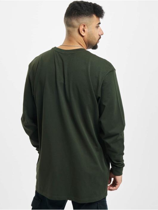 Reell Jeans Longsleeves Regular Logo zielony