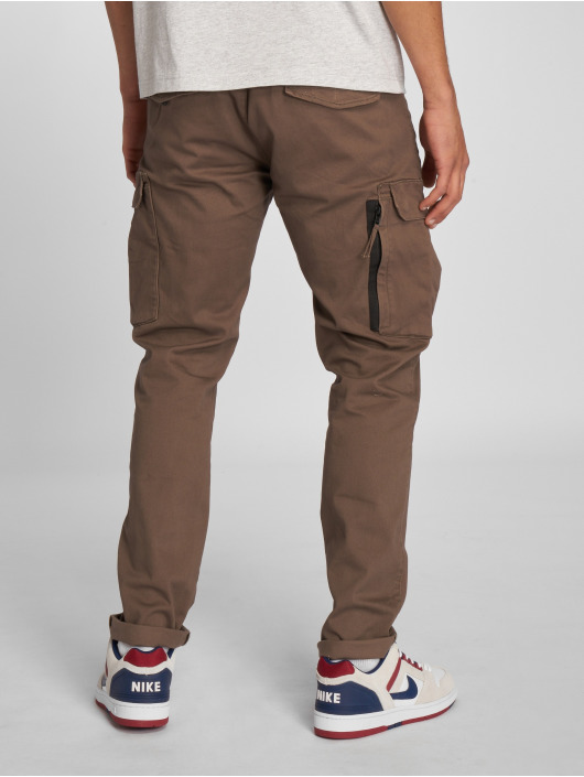 Pants Reell Jeans Cargo Tech Flex Grey Brown XZOiukP