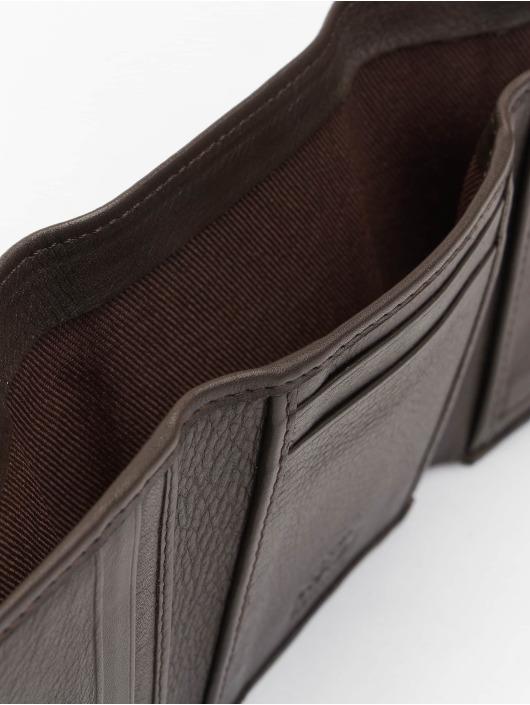 Reell Jeans Peňaženky Mini Trif. Leather hnedá