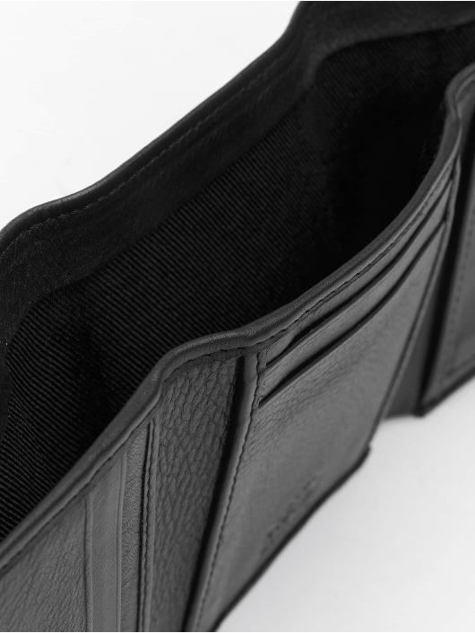 Reell Jeans Portfele Mini Trif. Leather czarny