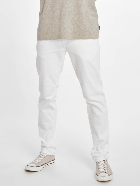 Reell Jeans Slim Fit Jeans Spider bianco