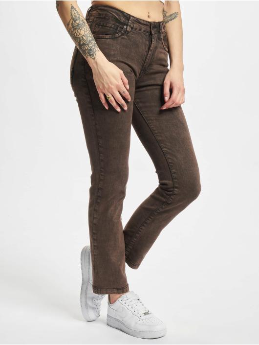 Reell Jeans Slim Fit Jeans Rocket hnedá