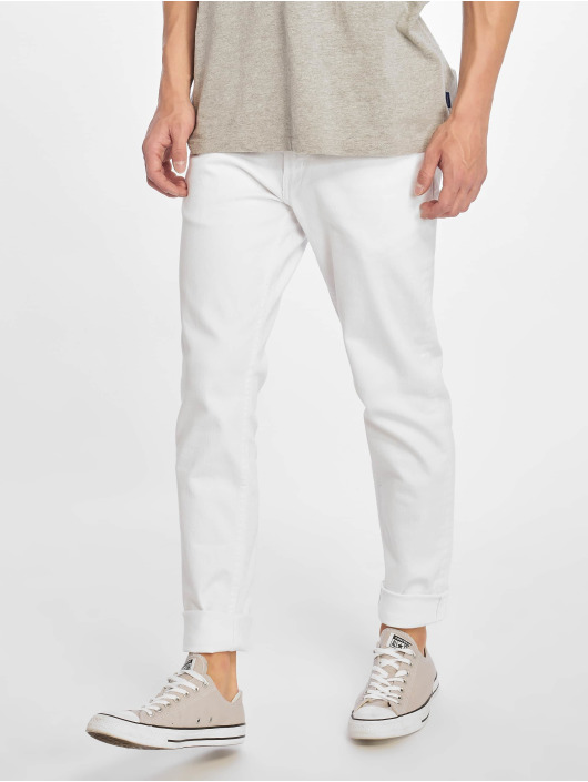 Reell Jeans Slim Fit Jeans Spider hvit